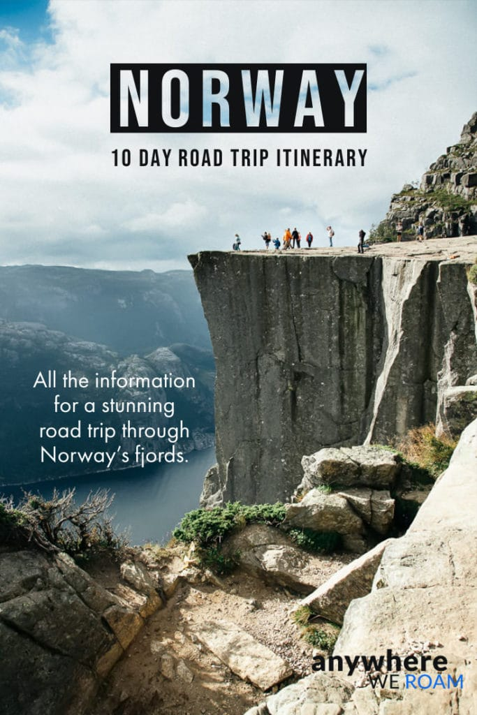10 day Norway Itinerary / All the information you need for an epic 10 day Norway road trip / Norway guide / #norway