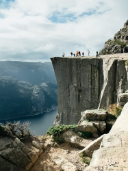 10-day Norway Road Trip Itinerary Preikestolen