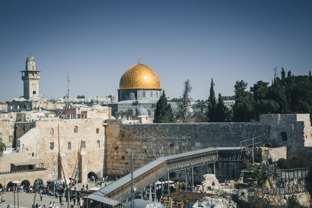 7 day Israel itinerary Jerusalem to Tel Aviv