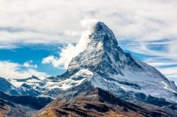 summer in the alps matterhorn