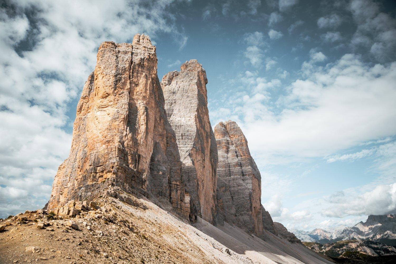 Hiking Tre Cime Italian Dolomites