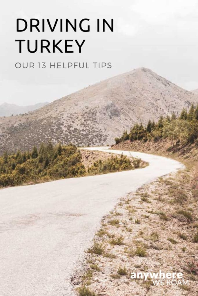 Our top tips for a smooth Turkey road trip / driving in Turkey / #Turkey