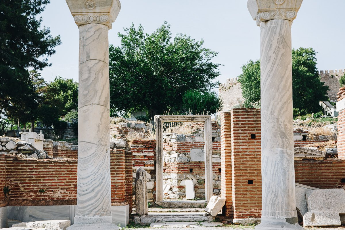 Ancient ruins in Turkey, Basilica of St John