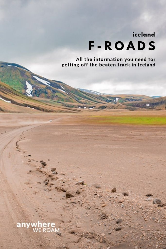 Driving the F-Roads of Iceland gets you off the main tourist trail exploring magnificent scenery in a slightly more adventurous travel experience. Here is what you need to know to decide if this 4x4 adventure is for you. / Iceland 4x4 car rental / highlands / f-roads in Iceland.