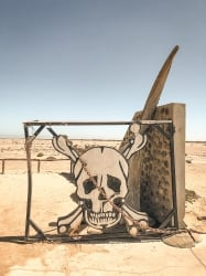 driving the skeleton coast, namibia