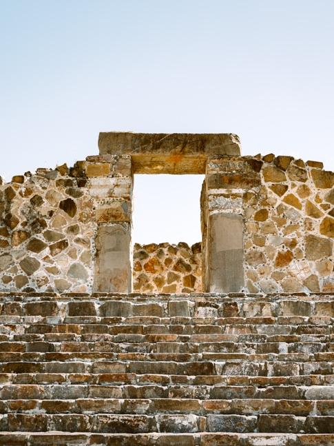 ancient ruins in mexico, Monte Albán
