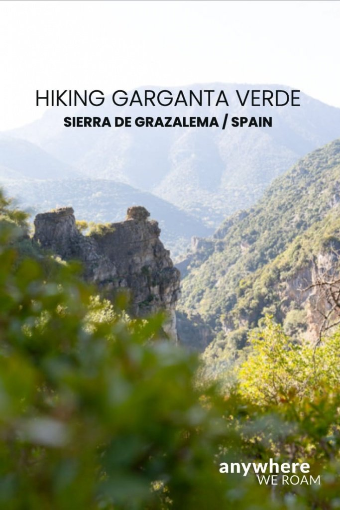 Tucked into the Grazalema Natural Park in Andalucía, the 400m deep Garganta Verde is a magnificent half-day hike. Here is all you need to know. / Sierra de Grazalema / hiking