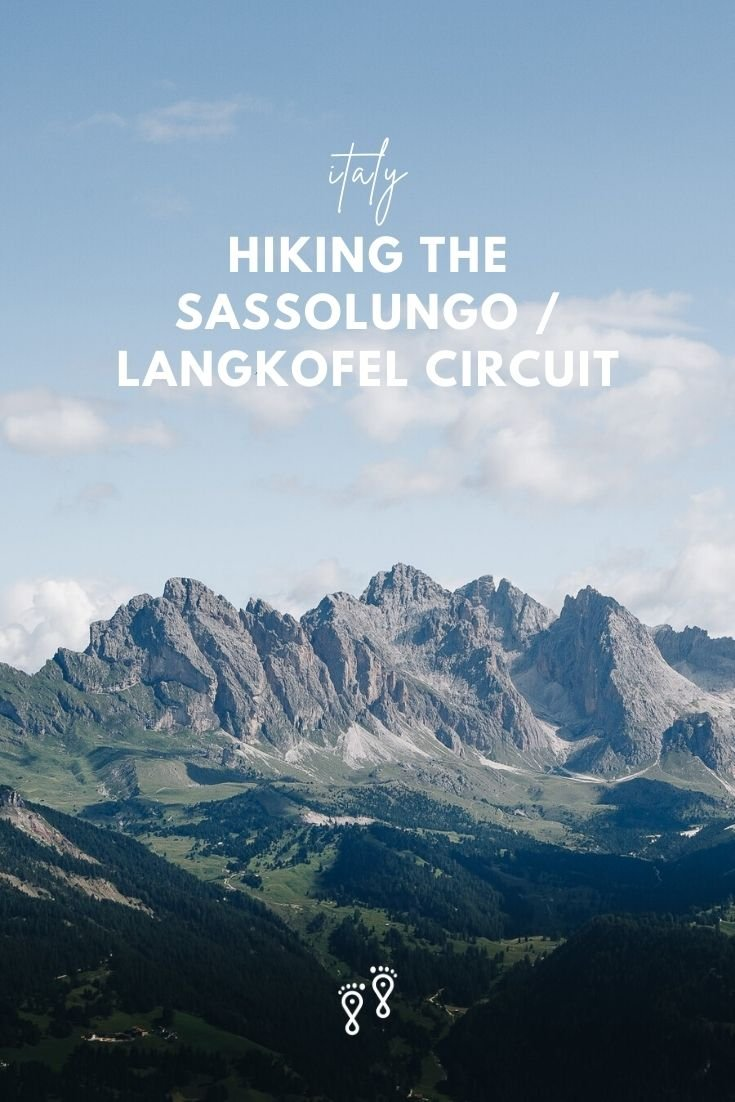 Hiking around the Sassolungo – Langkofel massif is not easy. But the superb, constantly changing views and excellent rifugios made it one of our favourite walks. Here's all you need to know. #sassolungo #dolomiters #italianalps