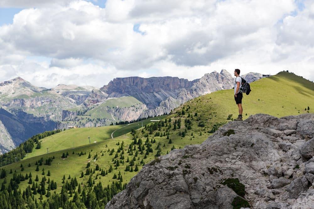 Hiking the Sassolungo Langkofel Circuit