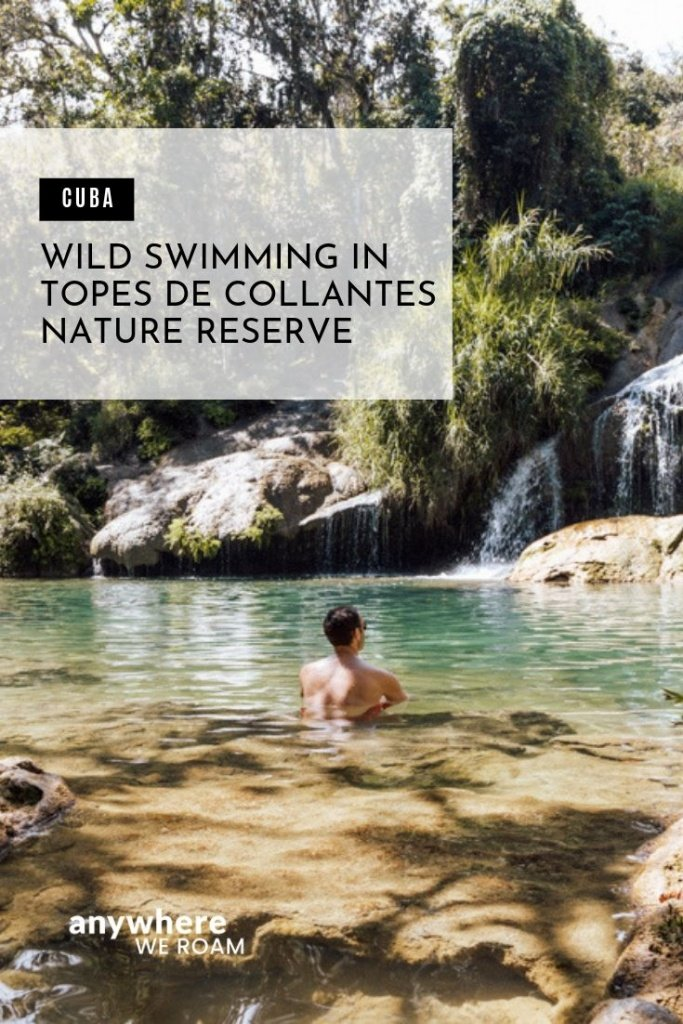 Topes de Collantes Nature Reserve stretches across the Escambray mountains in southern Cuba. Its jungle clad slopes are packed with waterfalls and swimming holes. Perfect a break from the Cuban heat.