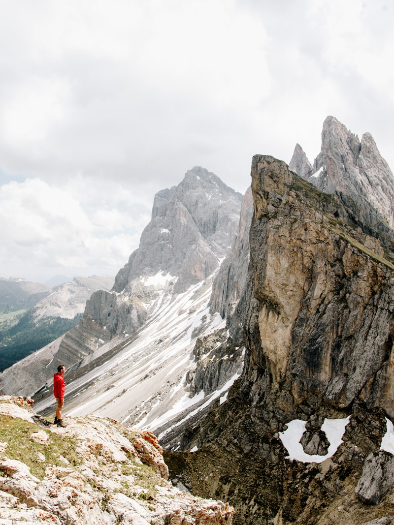 Dolomites hiking