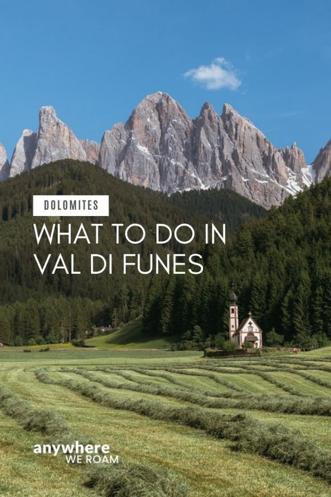 Val di Funes has become and Instagram favourite, but should you come for a few minutes or much longer? Here's how best to spend your time. / Val di Funes Dolomites / Italian Alps