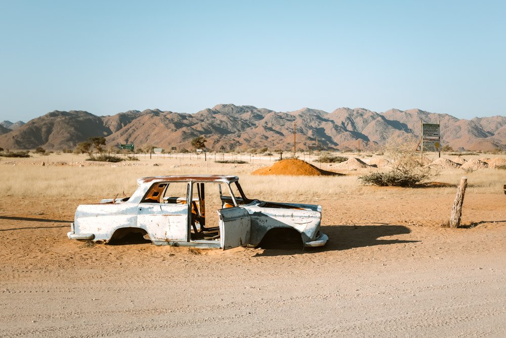 Self drive car rental in Namibia