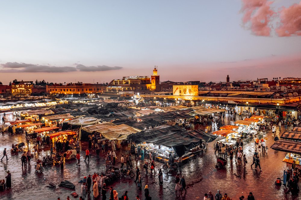 3 days in Marrakech Itinerary, Jemaa el-Fna