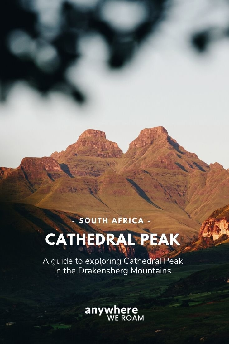 Choosing where to visit in the Drakensberg is tricky. Here's a comprehensive guide to Cathedral Peak a stunning part of the Drakensberg with hiking, outdoor activities and more / #cathedralpeak #drakensberg #visitkwazulunatal #visitsouthafrica