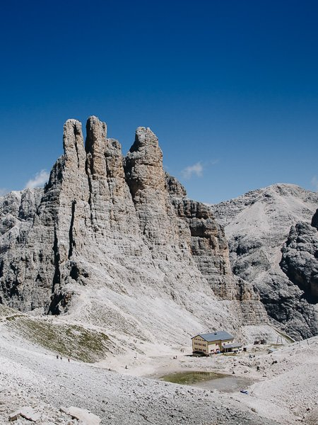 Vajolet Towers, Dolomites, Italy