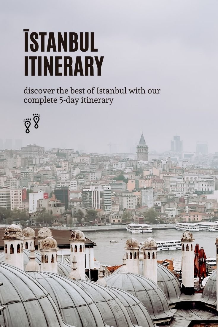 Istanbul is a heady mix of east and west with intriguing history, cool museums, hipster cafes and on-trend rooftop bars. Here's our 5-day Istanbul itinerary to help you see it all.   Istanbul Turkey travel guide   Istanbul travel itinerary   Istanbul itinerary   Istanbul Turkey   5 days in Istanbul   #turkey #istanbul #travel #turkeytravel #travelblog