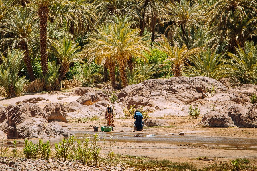 Flint Oasis, places in Morocco