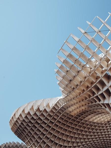 Metropol Parasol (Las Setas), Seville, Spain.