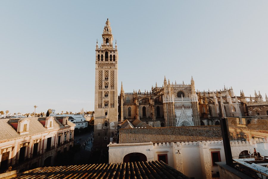 EME Catedral Hotel views of Seville Cathedral