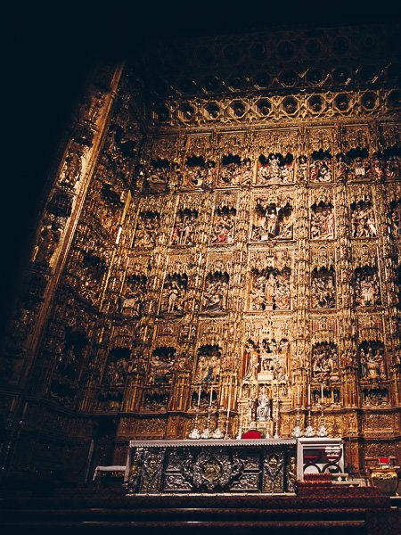 Alter, Seville Cathedral, Spain