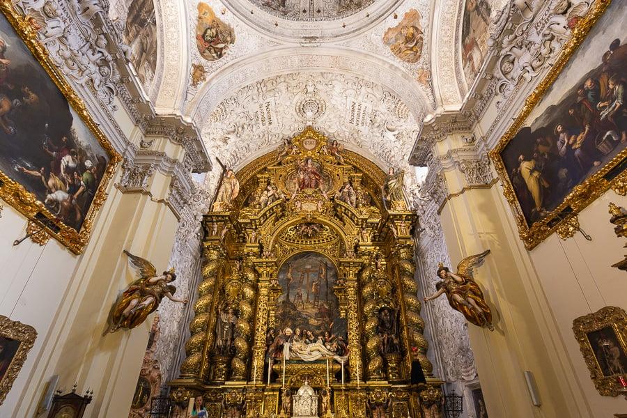 Gilded Chapel Hospital de la Caridad, Seville