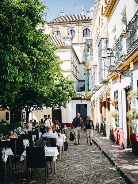 Plaza Doña Elvira, Seville
