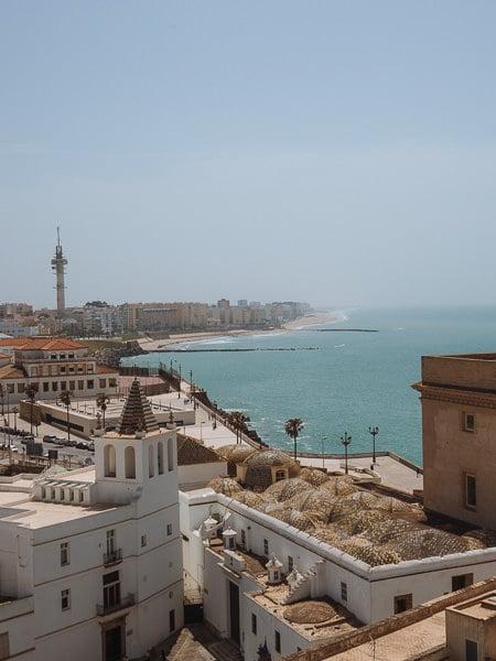 Views from Torre de Poniente, Cádiz.