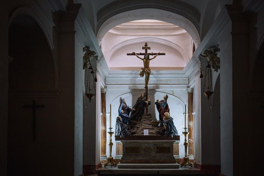 Lower chapel, Oratorio de la Santa Cueva, Cádiz.