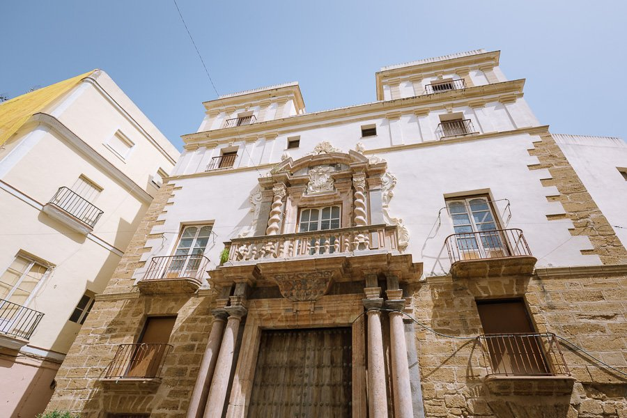 Casa del Almirante, San Martin Square, Cádiz