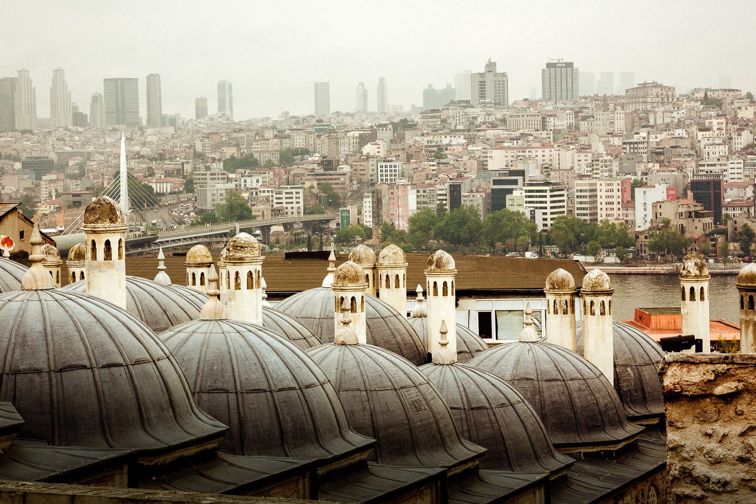 Rooftops of Istanbul from the Süleymaniye Mosque