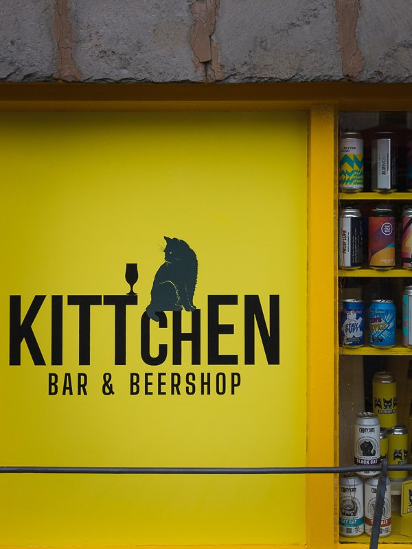 Kittchen bar and beershop in Hawkshead is a great place in the Lake District to stay